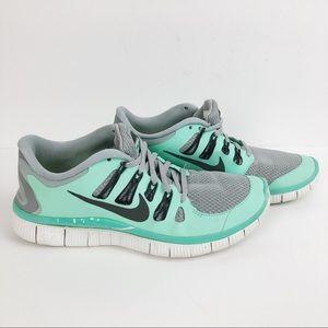Nike Free 5.0 Athletic Shoes